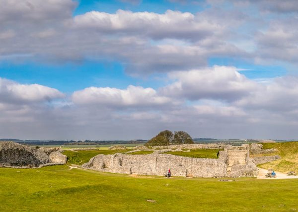 Old Sarum, the earliest settlement of Salisbury