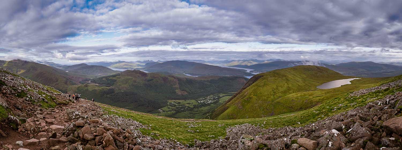 Ben Nevis Panoramic view