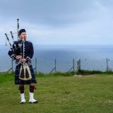 Scottish Piper Isle of Skye