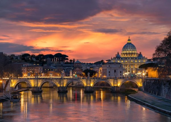 Vatican from Ponte Umberto