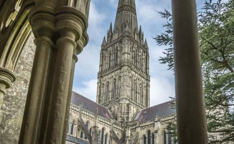 Salisbury Cathedral masterpiece of British architecture