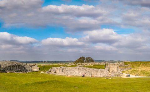 Old Sarum, the earliest settlement of Salisbury