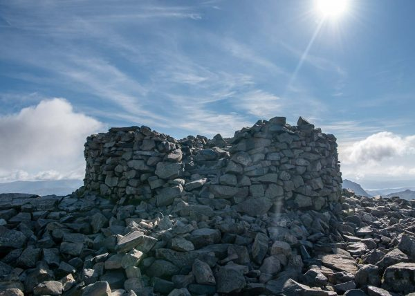 Photographing Scafell Pike Summit