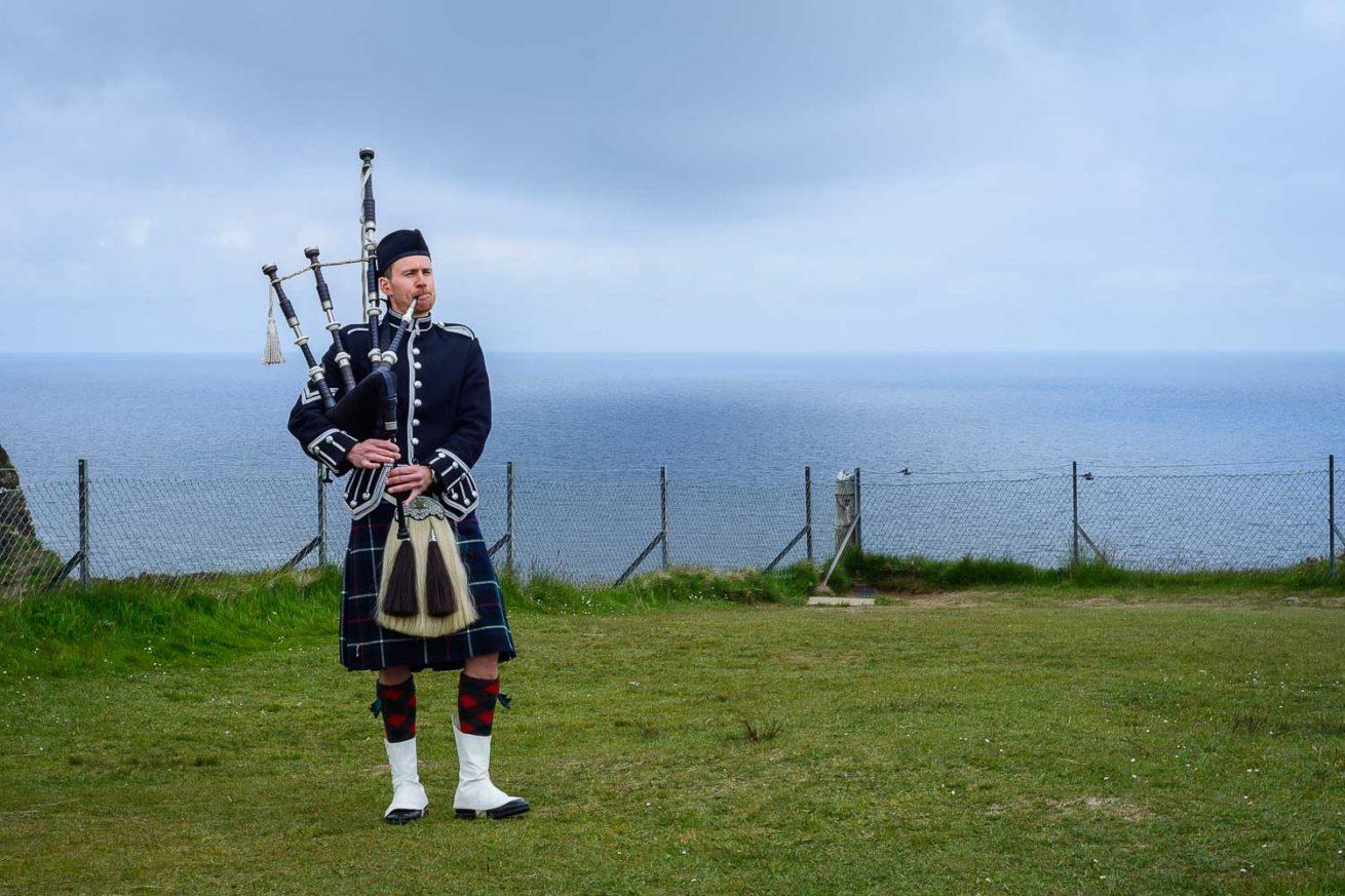 Scottish Piper Isle of Skye